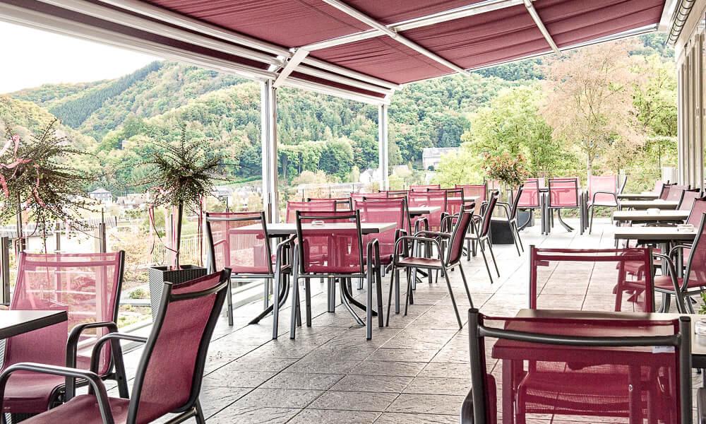 Restaurant Corvus Terrasse