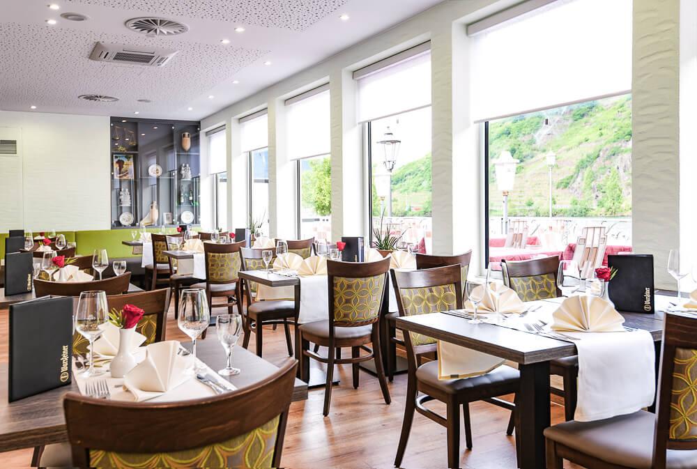 Restaurant Fuhrmann mit Aussicht nach außen