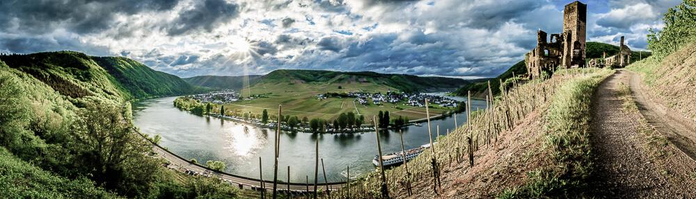 Moselschleife Panorama