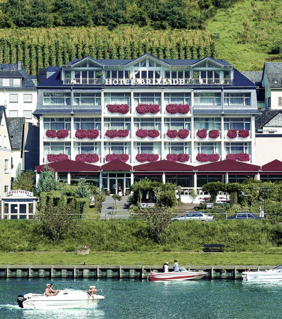 Hotelansicht Brixiade Aussen