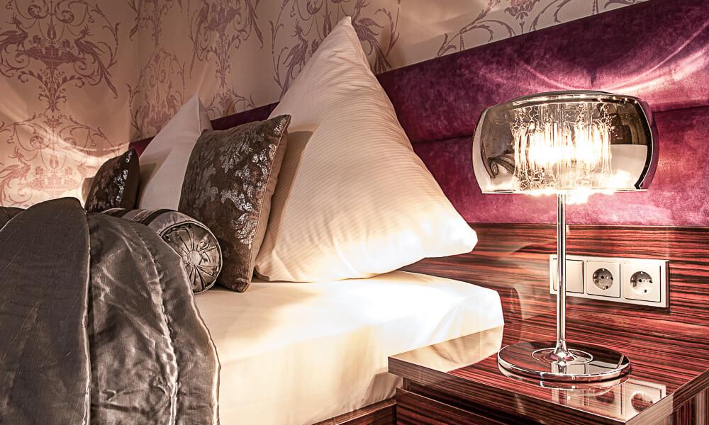 Hotel Krähennest Doppelzimmer Themen Josefine