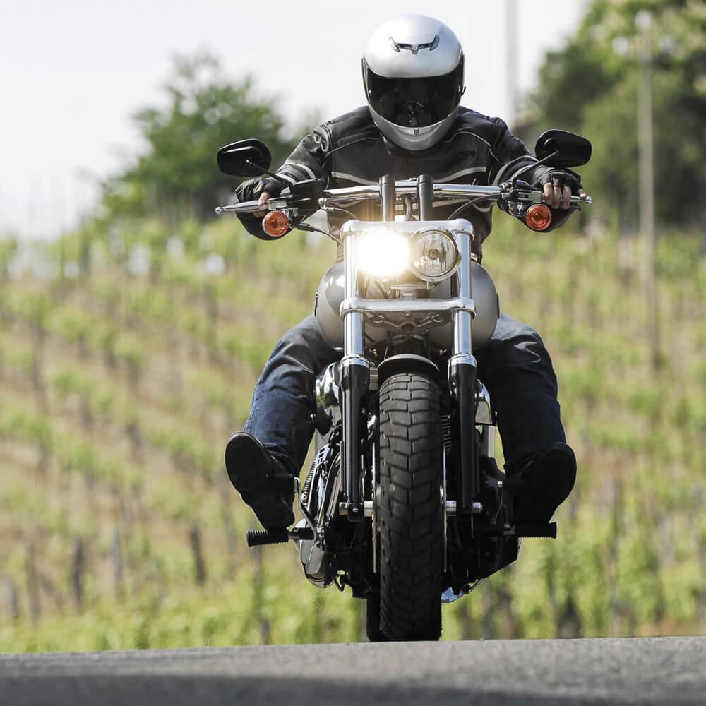 Motorradfahren an der Mosel