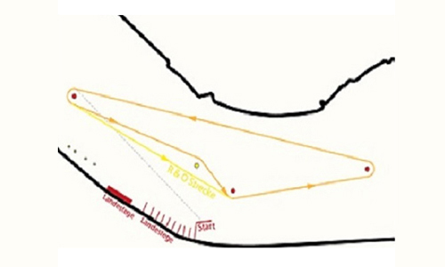 Strecke Gruenau