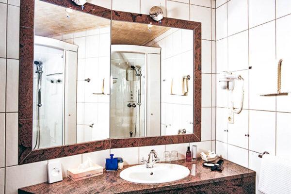 Brixiade Doppelzimmer Deluxe Waschbecken